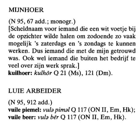 blog 4_De definitie van mijnhoer in het Woordenboek Limburgse Dialecten