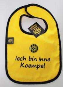 Een koempel-kinderslabbetje van Roda JC